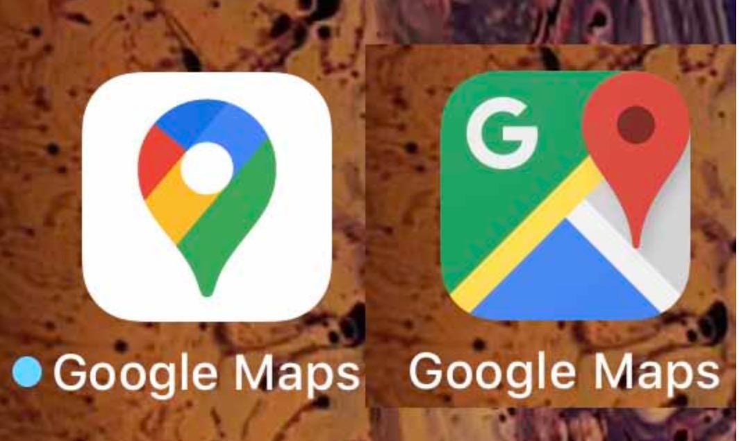 Google マップロゴデザイン