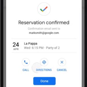 Googleで予約_ 確認方法