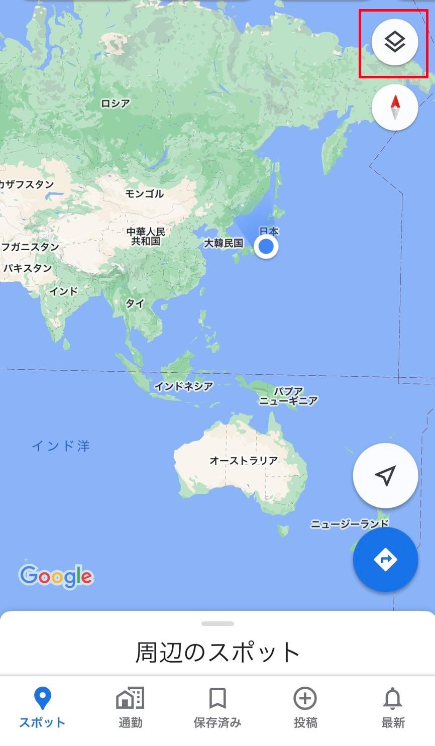 マップ ウイルス 新型 コロナ