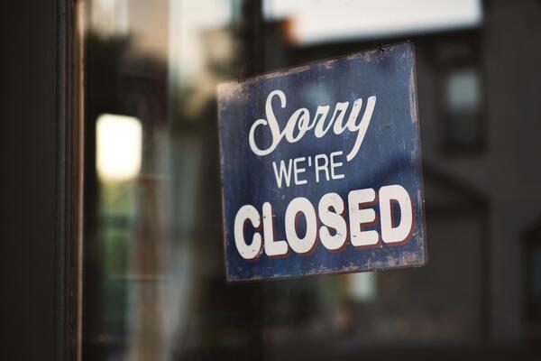 閉業、他の場所と重複について